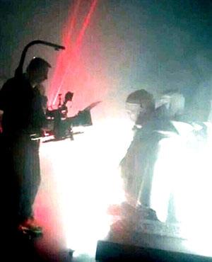 Un autre clip a été tourné à la citadelle de Spandau